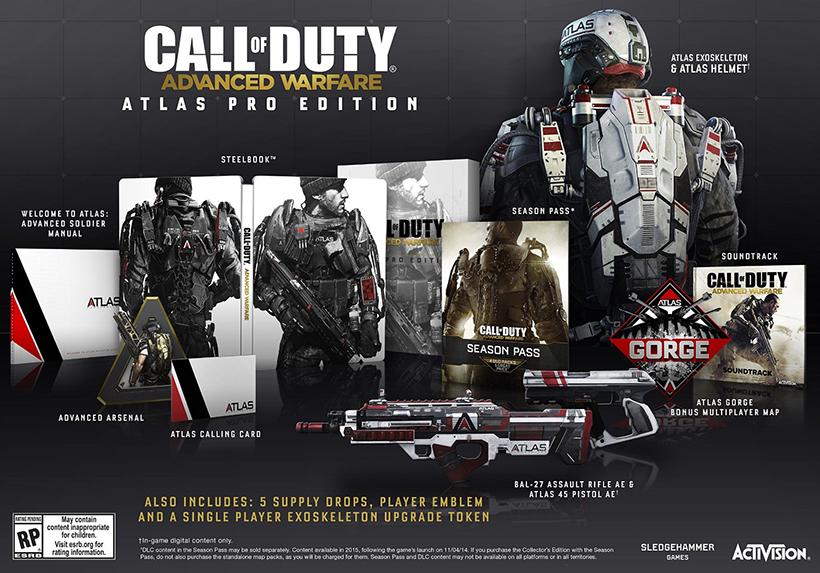 Call of Duty: Advanced Warfare Atlas Pro Edition
