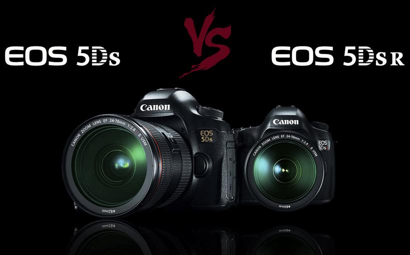 Canon EOS 5Ds vs 5Ds r